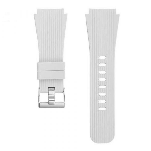 Laufbursche Zubehör - Schnellwechselarmband 22mm für Polar Vantage M Silikon weiss