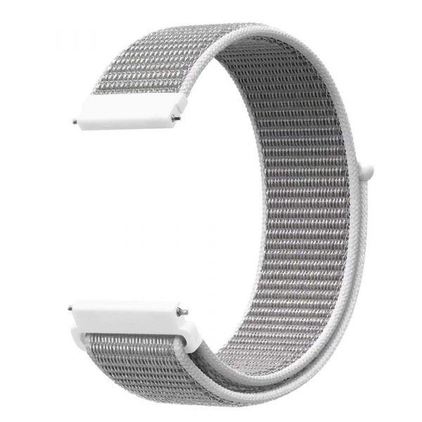 Nylon Schnellwechselarmband für Polar Vantage M weiss