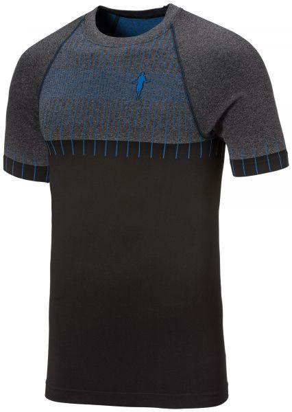 TM Ti-Shirt NYC schwarz-azur