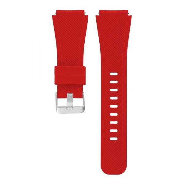 Laufbursche Zubehör - Milanese Schnellwechselarmband 22mm für Polar Vantage M Silikon rot