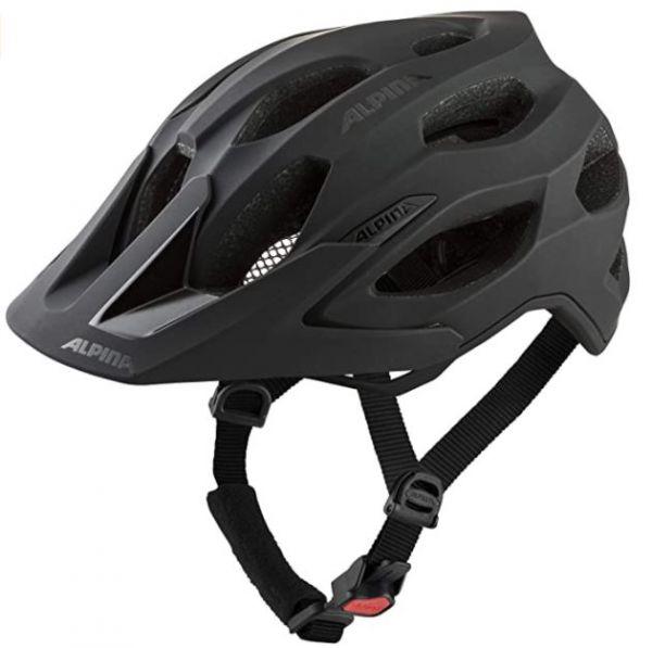 ALPINA Unisex - Erwachsene, CARAPAX 2.0 Fahrradhelm schwarz
