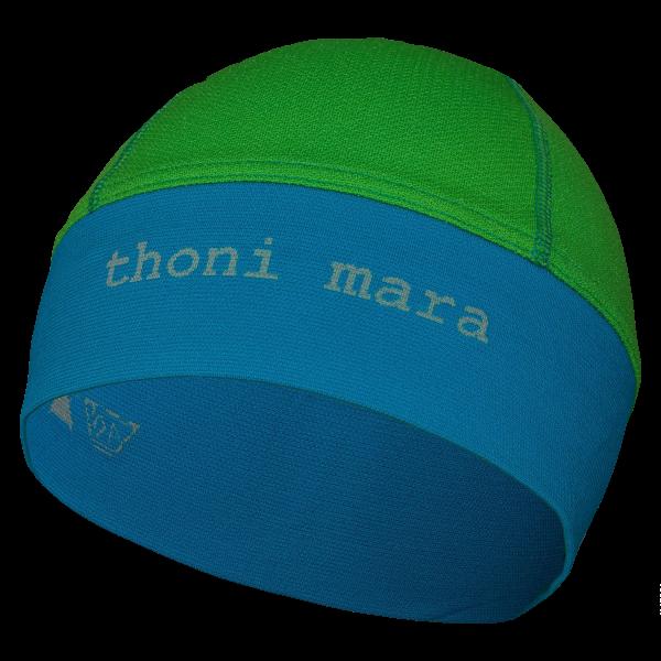 thoni mara Laufmütze - unisex grün/blau