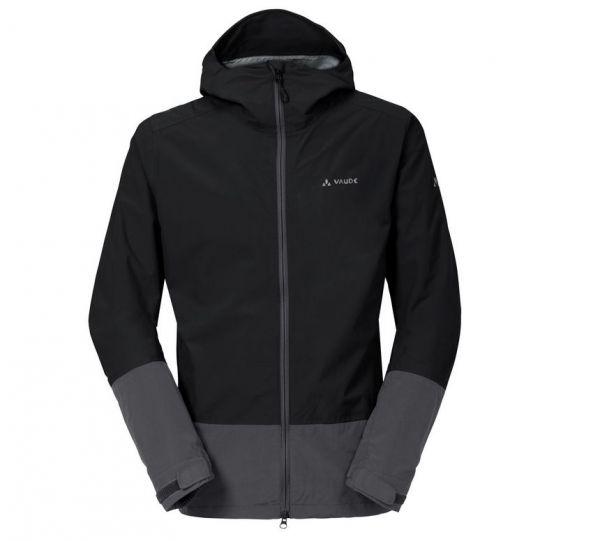 VAUDE Men's Yaras Jacket II - Regenjacke schwarz
