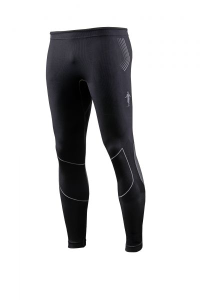 "thoni mara Laufhose lang ""Long - Tight"" - unisex schwarz"