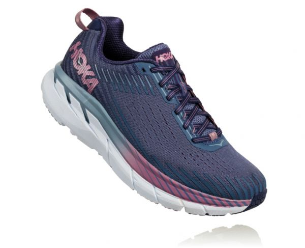HOKA ONE ONE Damen Clifton 5 Marlin / Blue Ribbon