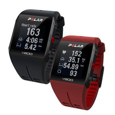 POLAR V800 Special Edition - Bundle inkl. Herzfrequenz-Sensor, Radhalterung und Trittfrequenz-Sensor