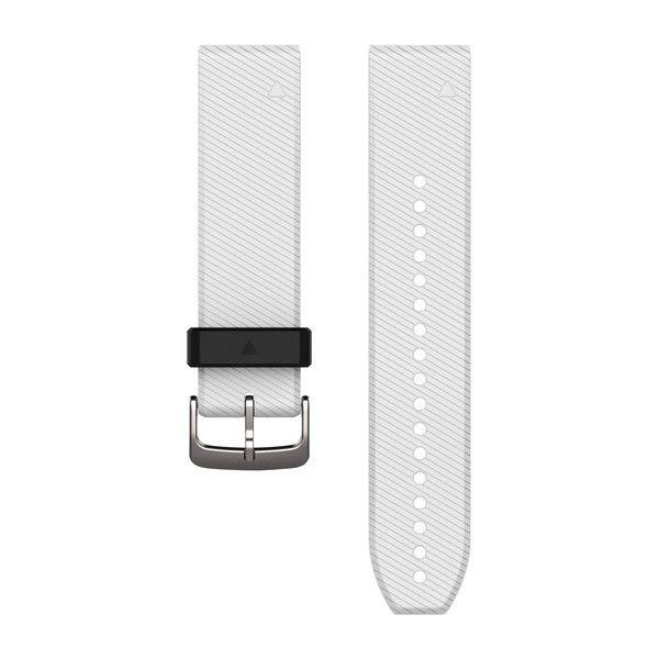 GARMIN Quickfit™ 22 Uhrenarmbänder in weiß/Silikon