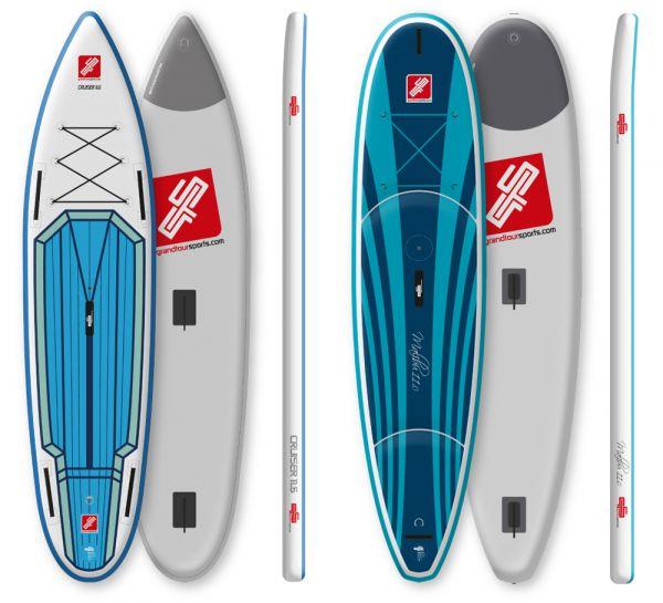 """GTS SUP-Board Verleih """"Malibu Surf"""" & """"Cruiser Surf"""" Wochenendmiete"""