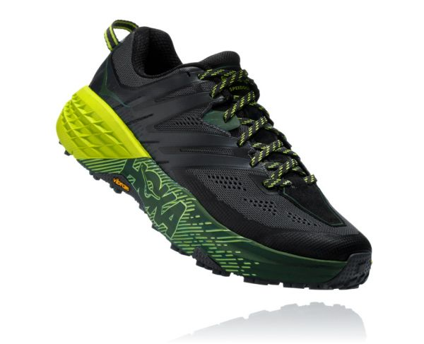 HOKA ONE ONE Herren Speedgoat 3 Ebony / Black