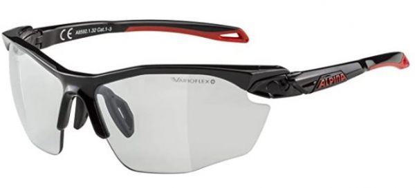 ALPINA Unisex - Erwachsene, TWIST FIVE HR VL+ Sportbrille, black matt, One size